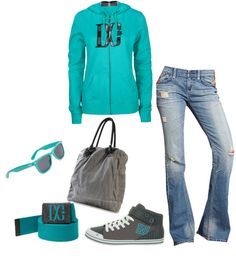 """DC Shoes"" by mmessenger on Polyvore"