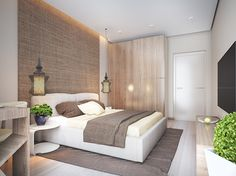 chambre cosy – lit design en blanc neige, penderie en bois massif et suspensions… cozy room – design bed in snow white, solid wood wardrobe and design suspensions Beautiful Bedrooms, Interior Design, Bedroom Interior, Home, Room Design, Cozy Room, Interior Design Bedroom, Home Bedroom, Bed Design