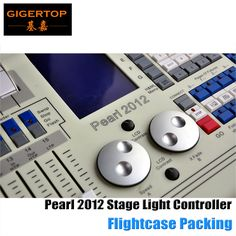 2250.00$  Watch here - http://ali89c.worldwells.pw/go.php?t=32682279093 - Tiger Touch Pearl DMX Lighting Controller for Stage Light, sound equipment,Splitter, Mixer Pearl 2012 Stage Lighting Console