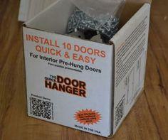 DIY Hanging Interior Doors