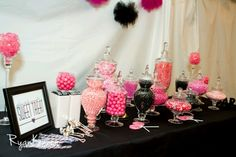 Wedding candy table   Flowers   Pinterest   Wedding candy table ...