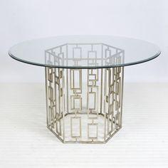 Jackson Silver Leaf Dining Table