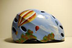 Hand Painted Bicycle Helmet - Adult