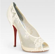 1000+ images about Shoes-Christian Louboutin Bridal Collection on ...