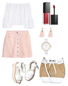 """""""Sporty"""" by cosmoelan on Polyvore featuring Carolina Herrera, Paloma Barceló, New Look, Smashbox, Torrid and River Island"""