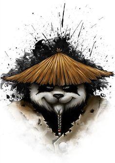 Kung Fu Panda art