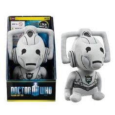 Doctor Who - Cyberman Plush Knuffel | Captain Hook Merchandise