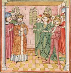 Elisabeth <Nassau-Saarbrücken, Gräfin, 1393-1456> Herpin — Stuttgart (?) - Werkstatt Ludwig Henfflin, um 1470 Cod. Pal. germ. 152 Folio 273r