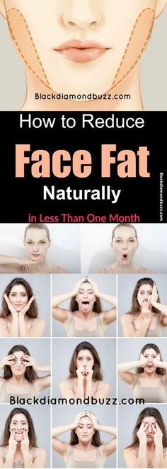 Face Fat Loss Exercises- How to Reduce Face Fat Naturally in Less Than One Month .