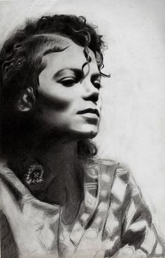 Michael Jackson freehand by krisiD on DeviantArt