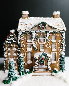 ❄️️❄️ Gingerbread house
