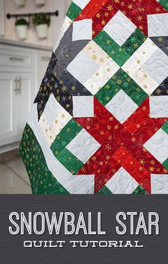 Find your holiday inspiration with the latest tutorial from Jenny, the Snowball Star quilt! This quilt block is easy to make and has so many possibilities depending on what your jelly roll looks like! Follow the link below to watch the quilting tutorial now! #MissouriStarQuiltCo #MSQC #JennyDoan #SnowballStarQuilt #StarQuilt #JellyRollQuilt #StripQuilt #Quilt #Quilting #QuiltTutorial #QuiltPattern #Christmas #ChristmasAesthetic #StarAesthetic #Sewing #BeginnerQuilt #HolidayDecor #HomeDecor… Missouri Quilt Tutorials, Quilting Tutorials, Msqc Tutorials, Quilting Ideas, Quilting Projects, Star Quilts, Easy Quilts, Quilt Blocks, Jelly Roll Sewing