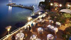 Restaurant & Bar : La Passagère - Hotel Belles Rives : Antibes, Juan les Pins