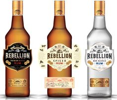 "Toorank Distilleries, the Netherlands-based company behind Sloane's Dry Gin, has launched the Rebellion Rum range into the on-trade, which is designed to provide a ""superior alternative"" to established pouring rum brands. Available in Spiced (rrp £16.99), Black and Blanco (rrp £15.99), the Rebellion Spiced (37.5% abv) leads the range and was created following demand from the bartending community for a return to fuller-tasting spiced rums.   chris.lake@toorank.com"