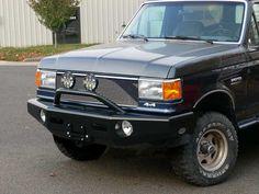 Buckstop.biz Bronco front winch bumper