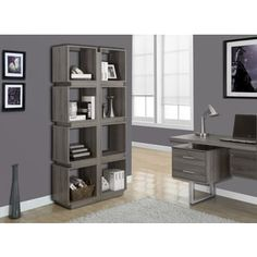 Shop for Dark Taupe Reclaimed-look 71-inch Bookcase. Get free shipping at Overstock.com - Your Online Furniture Outlet Store! Get 5% in rewards with Club O! - 16862288