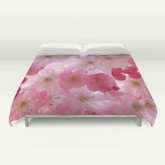 Delicate Cherry Blossoms Duvet Cover