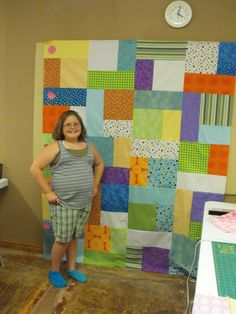 Working with kids to teach them to sew and quilt.