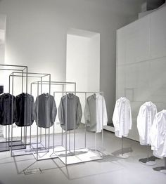 Sometimes you have to work in the box to think out of it. #Visualmerchandising for COS by nendo
