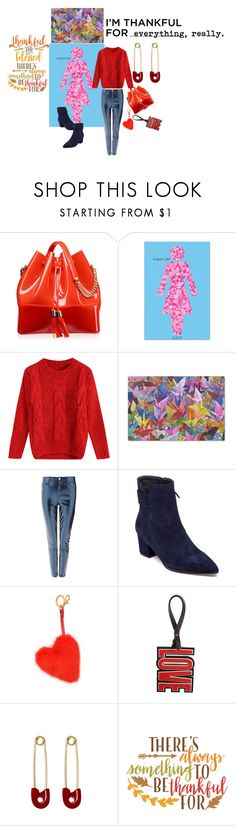 """""""THANKFUL FOR EVERYTHING"""" by michelle858 ❤ liked on Polyvore featuring Kartell, Topshop, VANELi, Anya Hindmarch, Givenchy, Kristin Cavallari and Cricut"""
