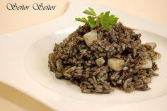 El arroz negro es una de mis perdiciones, ¿Estáis de acuerdo?#Comparte y #Guarda en tu #muro