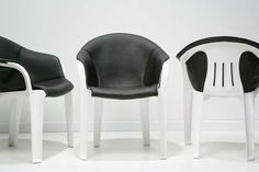 Artists and DIYers Transform the Ubiquitous White Lawn Chair