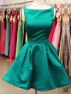 best=Satin Scoop Neck A line Short Mini Sashes Ribbons Prom Dresses , Looking for that Perfect Prom Dress? Want to look amazing at the dance? Modest Homecoming Dresses, Cheap Short Prom Dresses, Two Piece Homecoming Dress, Homecoming Dresses Long, Fitted Prom Dresses, Best Prom Dresses, Popular Dresses, Nice Dresses, Mini Dress Formal
