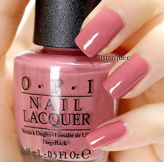 Love the colour, yet it looks very different in different photos in different light (OPI Guoda Guoda Two Shoes). Nail Lacquer, Opi Nail Polish, Opi Nails, Nail Polishes, No Chip Manicure, Opi Nail Colors, Pretty Nail Designs, Beautiful Nail Art, Summer Colors