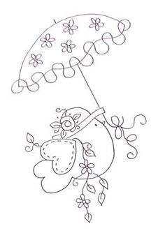 Clever Handmade - Embroidery Patterns - Rub Ons - Mod Flowers: If you prefer free hand sewing but need a little guide then you will love these Embroidery Pattern Rub Ons from Clever Handmade. Sew ... Entrez dans mon monde de loisirs créatifs, de balades,...