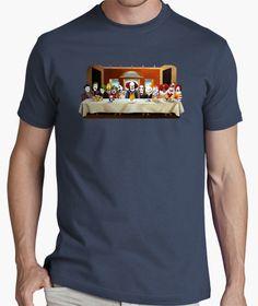 Camiseta La última cena payasa Manga Corta 7eca0ed6ea7d7