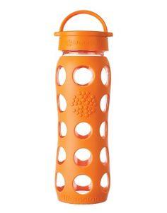 Lifefactory Classic Cap Bottle in Orange