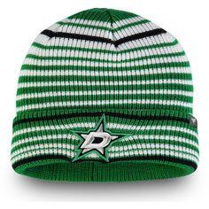 588f4243bfe Men s Dallas Stars Fanatics Branded Kelly Green Iconic Layer Core Cuffed  Knit Hat