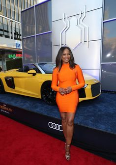 Garcelle Beauvais Photos Photos - Garcelle Beauvais attends the World Premiere of 'Spider-Man: Homecoming' hosted by Audi at TCL Chinese Theatre on June 28, 2017 in Hollywood, California. - Audi Arrives at the World Premiere of 'Spider-Man: Homecoming'