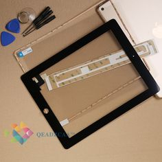 100% Tested Excellent Front Glass Replacement With Professional Repair Kit Touch Screen Digitizer For iPad 2 With Protector #jewelry, #women, #men, #hats, #watches, #belts