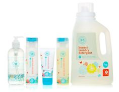 The Honest Company (Jessica Alba's new venture!) provides parents with monthly supplies like cleaning products and diapers and wipes. www.thebump.com #EcoFriendly #cleaning #green #parenting
