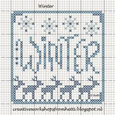 Creative Workshops from Hetti: WINTER FREEBIE