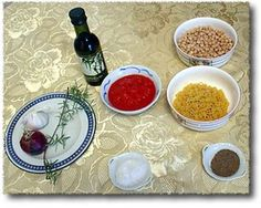 Pasta e Ceci: What You'll Need - © Kyle Phillips Licensed to About.Com