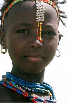 Africa   Dassanach Girl, Ethiopia