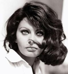 Sophia Loren, Inspiration board by Gwendolyn-Mary.com, bringing scent and music…