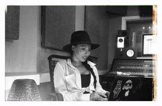 Wynter Gordon...  Working On New Music In SoHo.