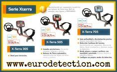 ¡¡La Serie X-Terra de Minelab disponible al completo en www.eurodetection.com!! #Eurodetection #DetectorMetal #Minelab #XTerra #MetalDetecting #Hobby