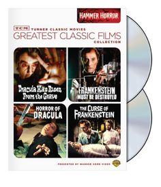 TCM Greatest Classic Film Collection: Hammer Horror (Horror of Dracula / Dracula Has Risen from the Grave / The Curse of Frankenstein / Frankenstein Must Be Destroyed) DVD ~ Christopher Lee, http://www.amazon.com/dp/B003M8NGG2/ref=cm_sw_r_pi_dp_PCFXtb1TNBPVN