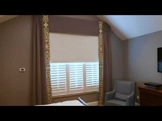 One Family's Quest for Good Rest: A Blackout Window Treatments Story Blackout Windows, Blackout Curtains, Roller Shades, Drapery, Window Treatments, Master Bedroom, Rest, Flooring, Mirror