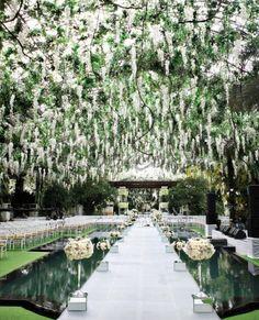 decoración de jardin boda