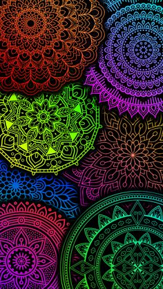 Cute Wallpaper Backgrounds, Colorful Wallpaper, Phone Backgrounds, Cute Wallpapers, Iphone Wallpaper, Coloring Book Art, Colouring Pages, Cute Screen Savers, Bright Paintings