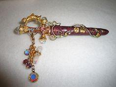 Vintage Enchanting Sword Pin