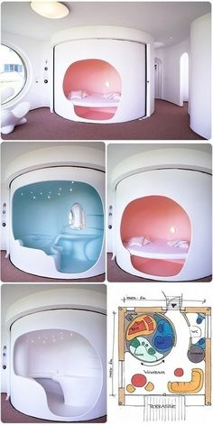 rotating room, well thats cool