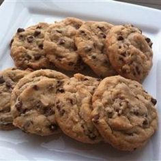 Best Chocolate Chip Cookies Recipe this is my new recipe. i wont ever make any other kind of chocolate chip cookies, they were too big of a hit in our house!