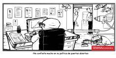 Humor: política de puertas abiertas  Semana Económica 1314