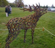 Made from old horse shoes, Living Crafts at Hatfield House